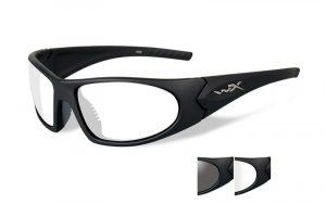 Wiley X ROMER 3 Smoke/Clear Matte Black Frame