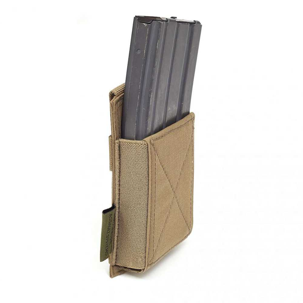 Warrior Single Elastic Mag Pouch Coyote