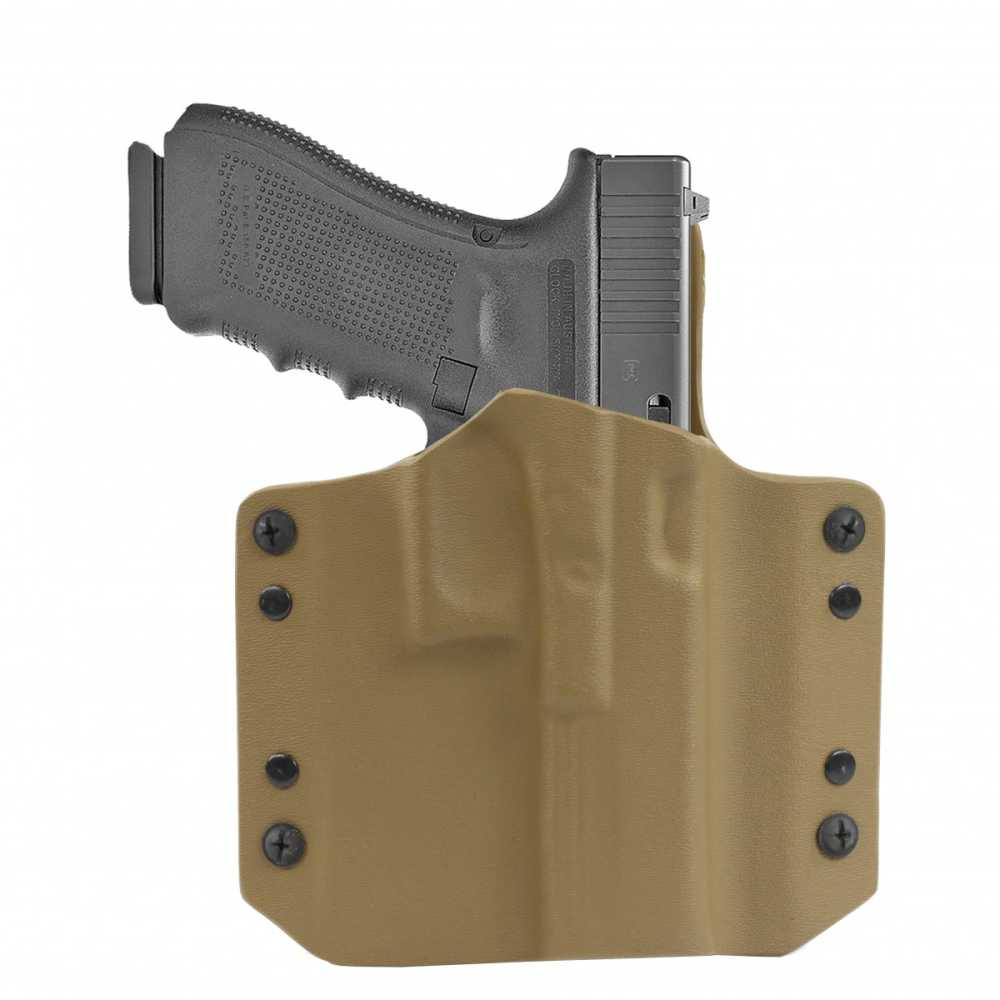 ARES Kydex Holster Glock-17/19 Coyote Tan