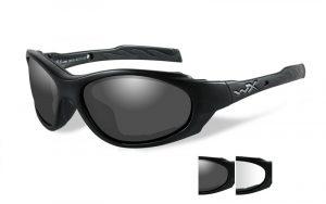 Wiley X XL-1 AD Smoke/Clear Matte Black Frame