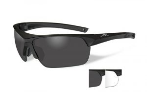 Wiley X GUARD Smoke/Clear Matte Black Frame