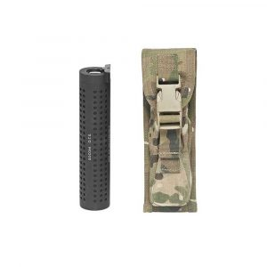 Warrior LARGE Torch/Suppressor Pouch MULTICAM
