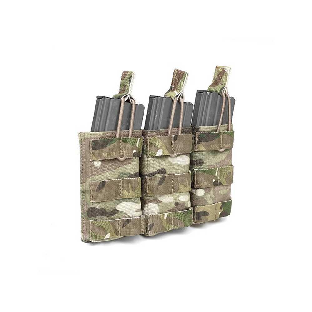 Warrior Triple Open 5.56mm MULTICAM