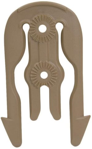 Safariland 6004-16 MOLLE Locking System Accessory Locking Fork (MLS 16) Coyote Brown