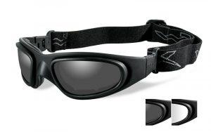 Wiley X SG-1 Smoke/Clear Matte Black Frame