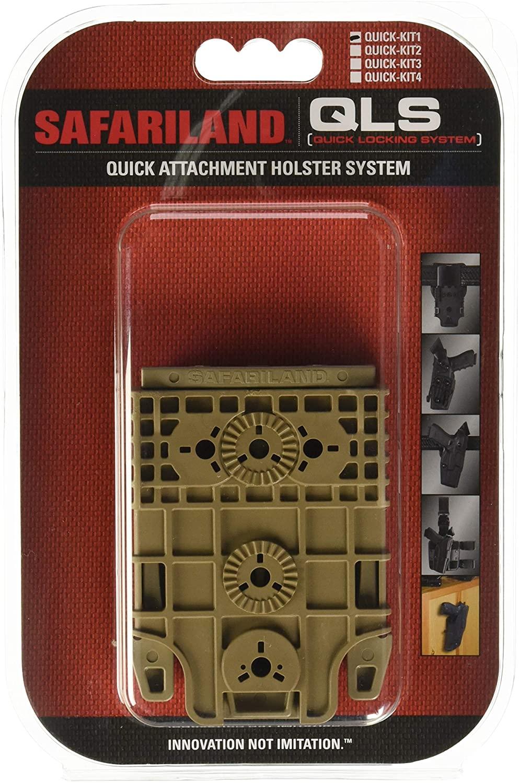 Safariland Quick Locking System Kit 1 FDE