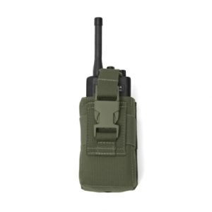 Warrior Small Radio Pouch Olive Drab