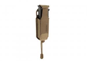 ClawGear 9mm Backward Flap Mag Pouch Coyote Brown