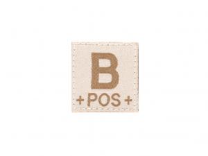 B Pos Bloodgroup Patch Desert