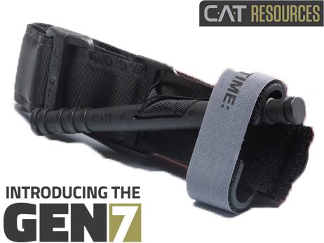 Torniquete CAT Combat Application Tourniquet Tactical Black Gen 7