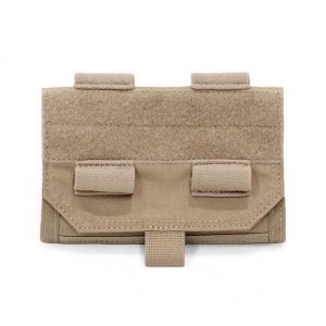 Warrior Forward Opening Admin Pouch – Coyote Tan