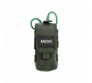 Warrior Individual first Aid Kit OD - Green