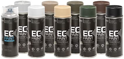 NFM EC Paint Equipment Camouflage - Black