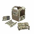 Warrior Removable Triple Molle Open Pouch RPC Multicam