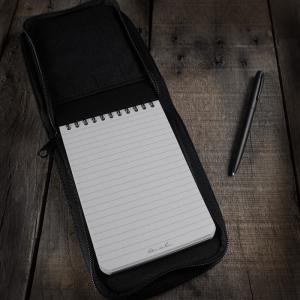 Rite in the Rain Black Cover Black Notebook Black Pen Nº 746 B Kit