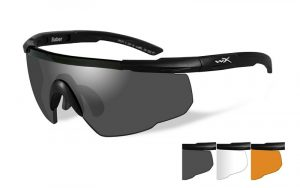 Wiley X SABER ADV. Smoke/Clear/Rust Matte Black Frame