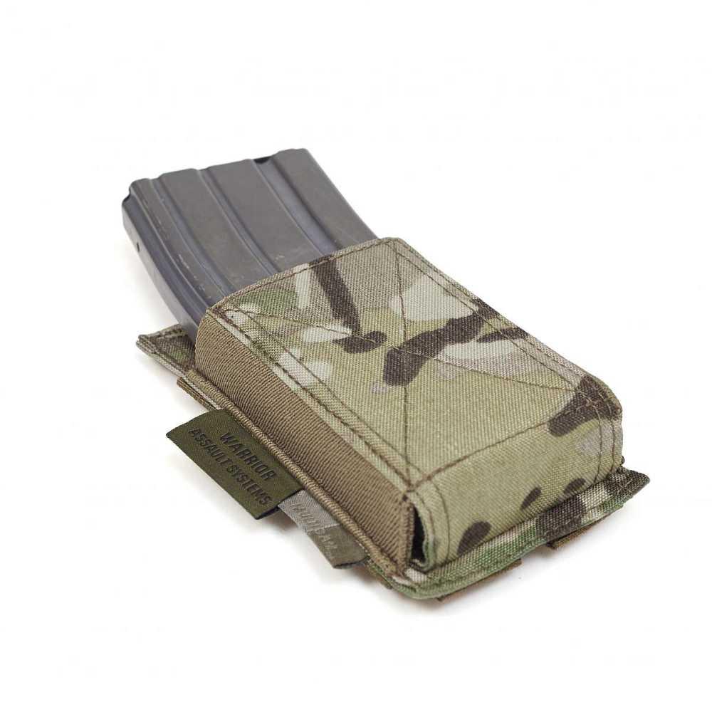 Warrior Single Elastic Mag Pouch MultiCam