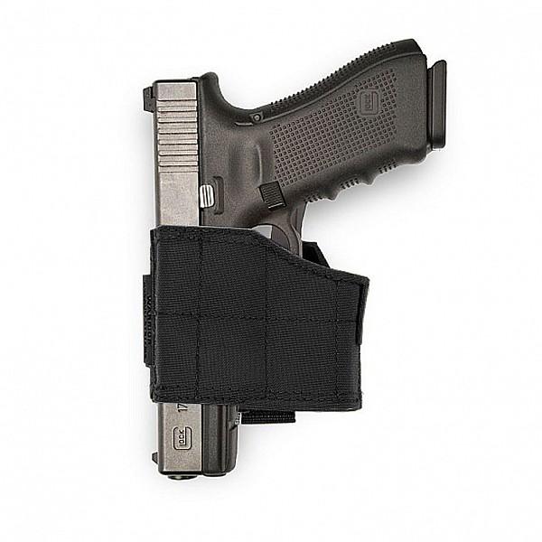 Warrior Universal Pistol Holster Left Handed Black