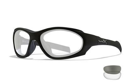 Wiley X XL-1 AD COMM Smoke/Clear Matte Black Frame