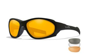 Wiley X XL-1 AD COMM Smoke/Clear/Rust Matte Black Frame