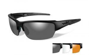 Wiley X SAINT Grey/Clear/Light Rust Matte Black Frame