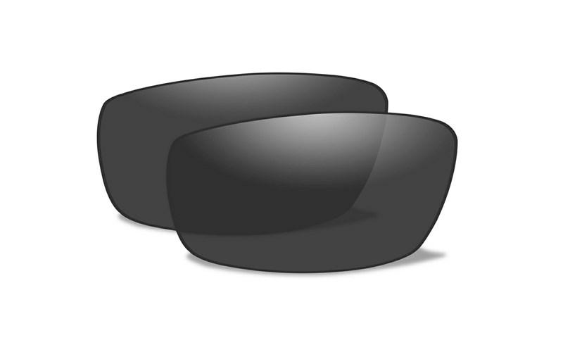 Wiley X VALOR Polarized Smoke Grey Extra Lenses