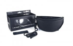 Wiley X SAINT Grey/Clear Matte Black Frame