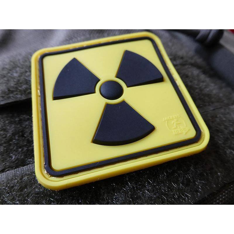 JTG Radioactive Patch, fullcolor / 3D Rubber patch