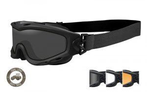 Wiley X SPEAR Dual Smoke/Clear/Rust Matte Black Frame