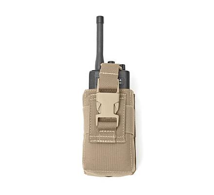 Warrior Small Radio Pouch - Coyote Tan